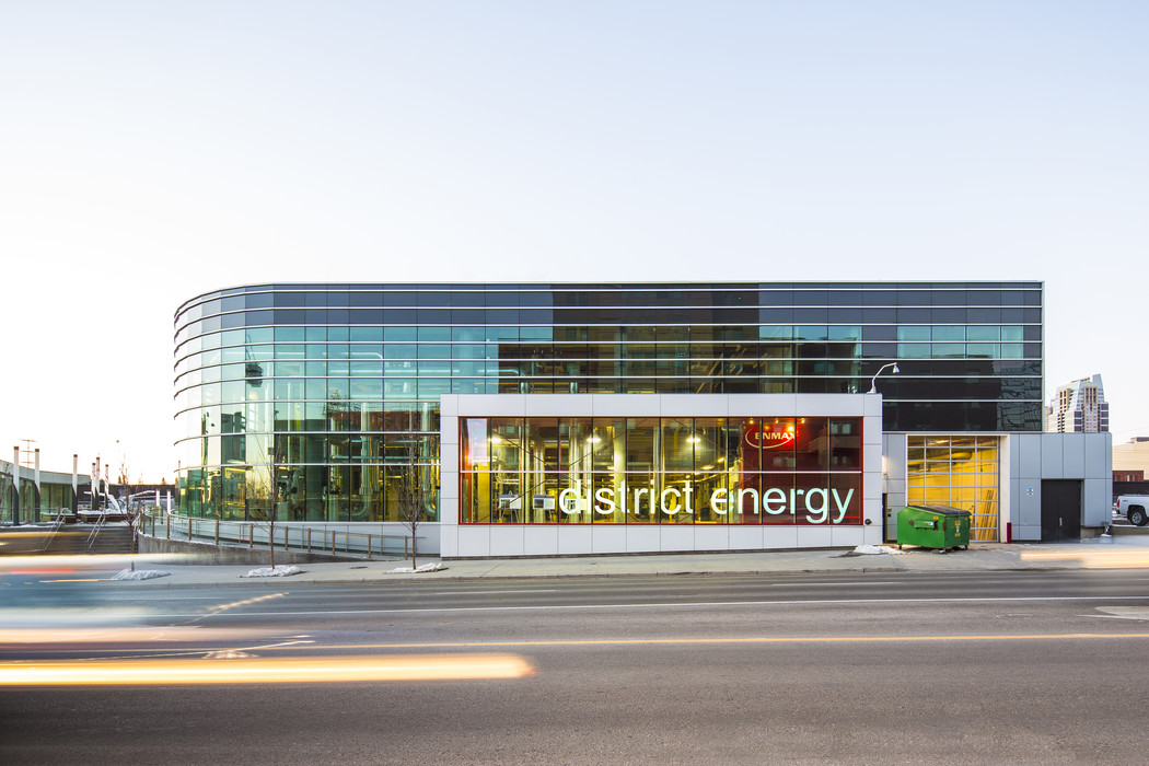 From Enmax, energy for low emissions district heating